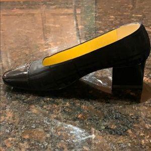 Fendi Shoes - Vintage Fendi Square Toe Pump